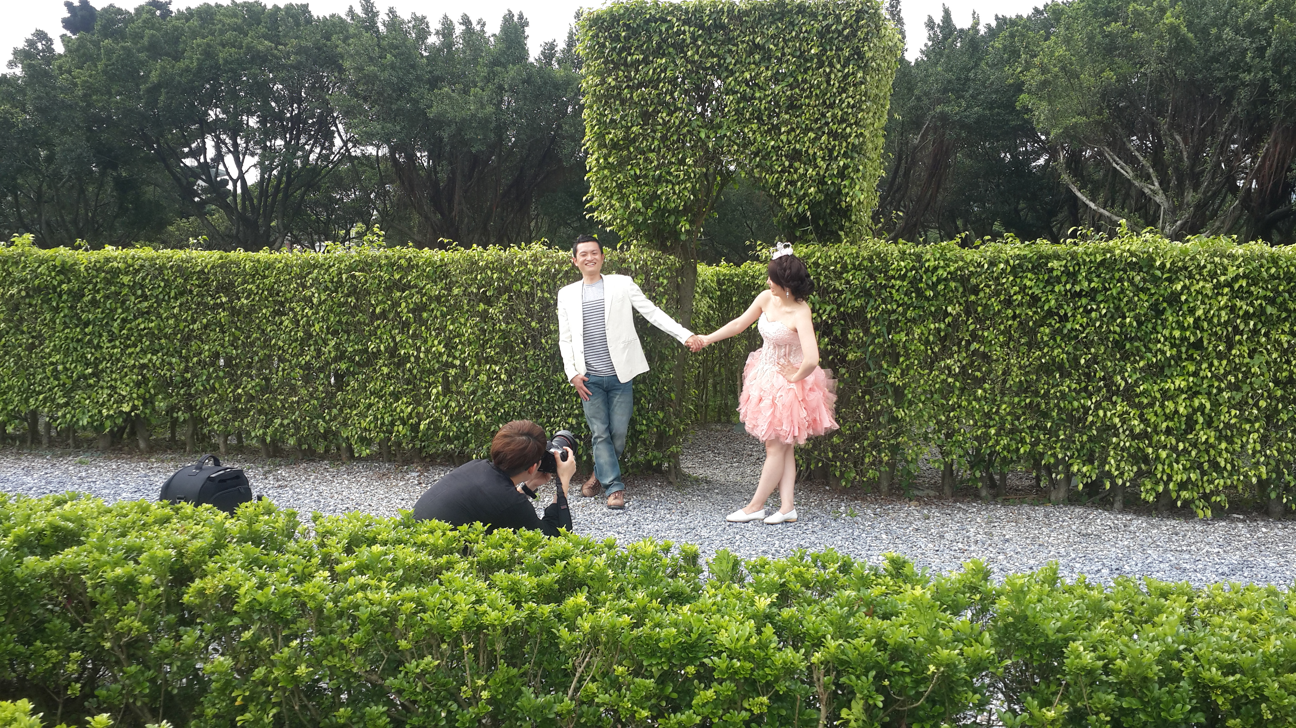 2014-06-13 自主婚紗 拍攝花絮