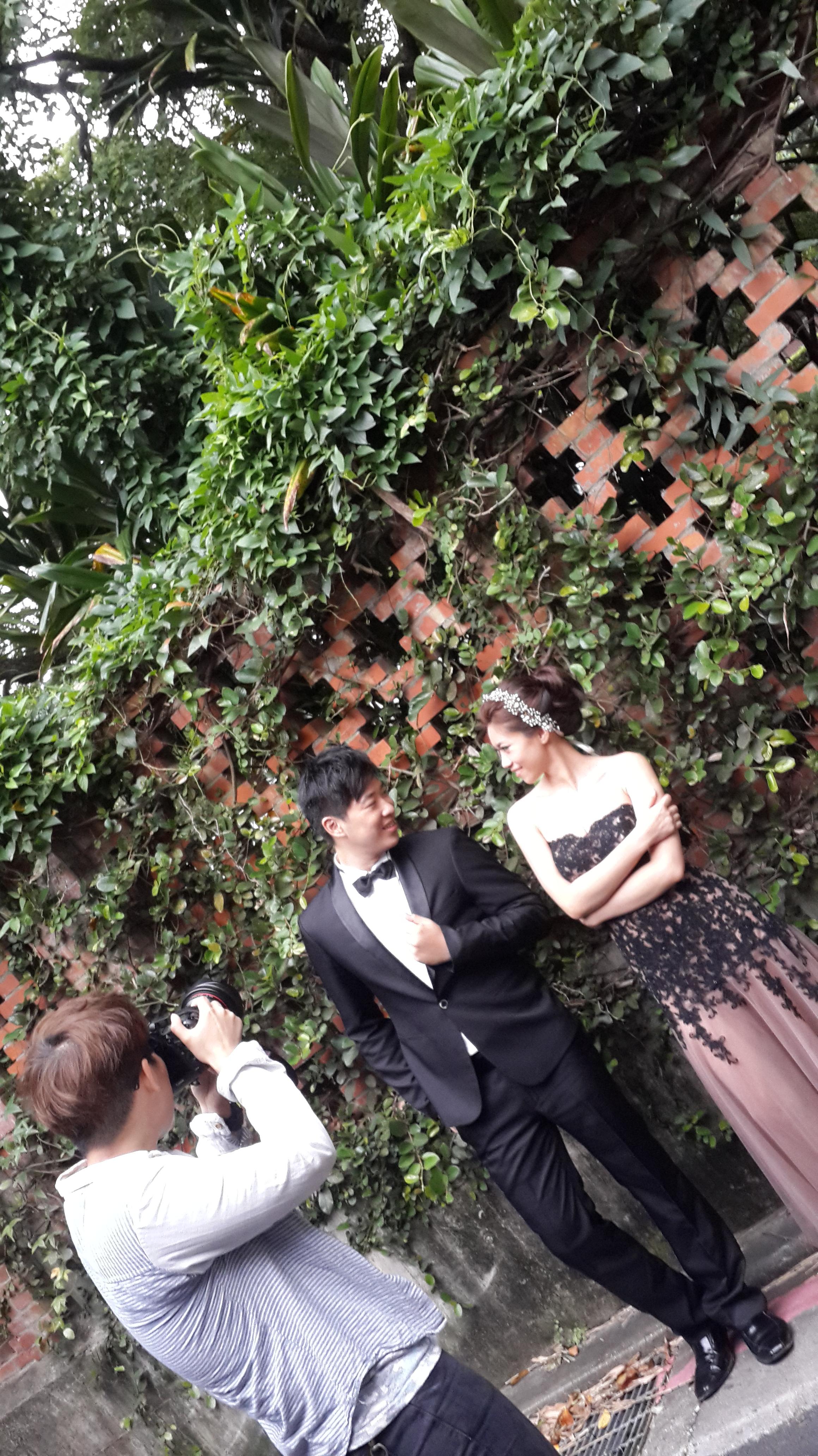 2014-06-19 自助婚紗 攝影拍攝花絮