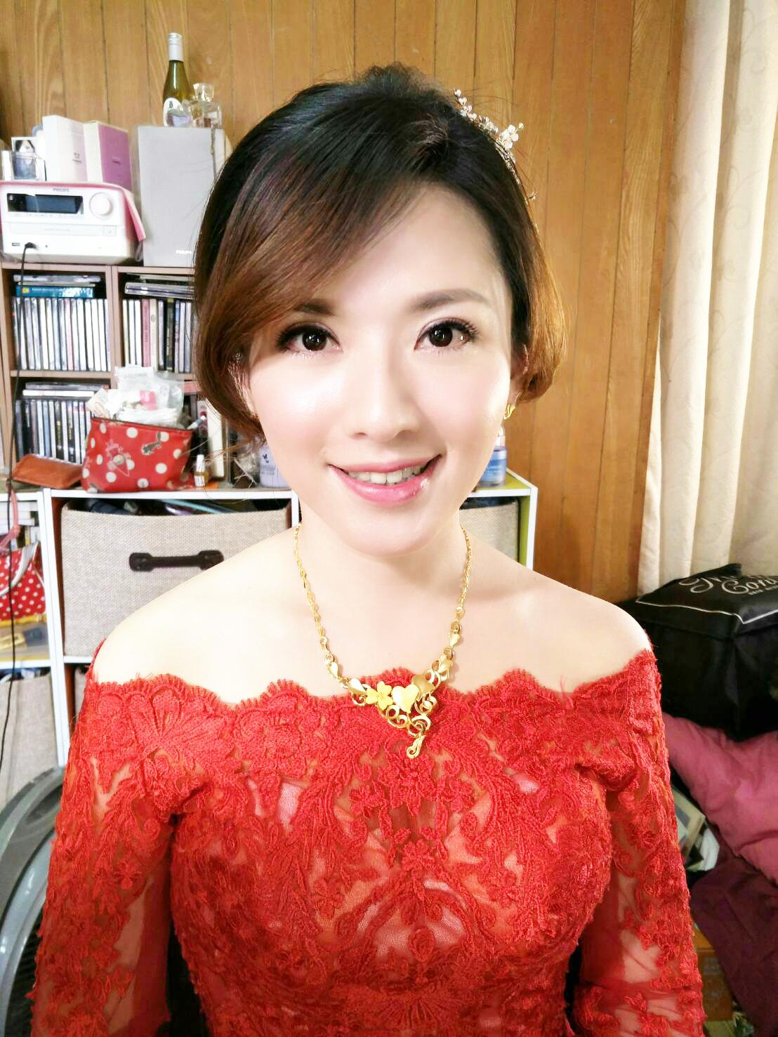 台北新娘秘書 – 新秘千越 : 新娘文定儀式造型