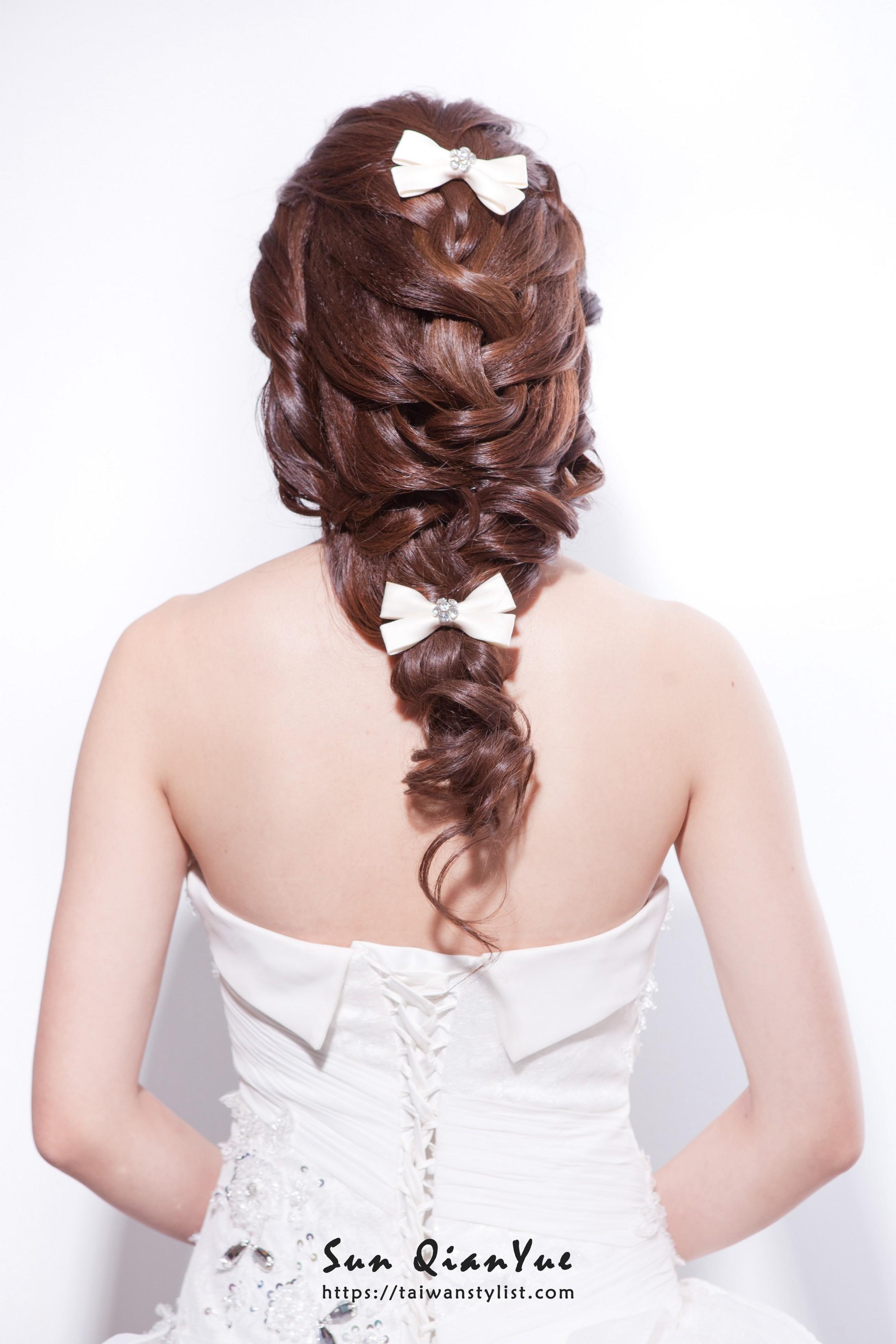 【新娘妝髮】編發造型推薦
