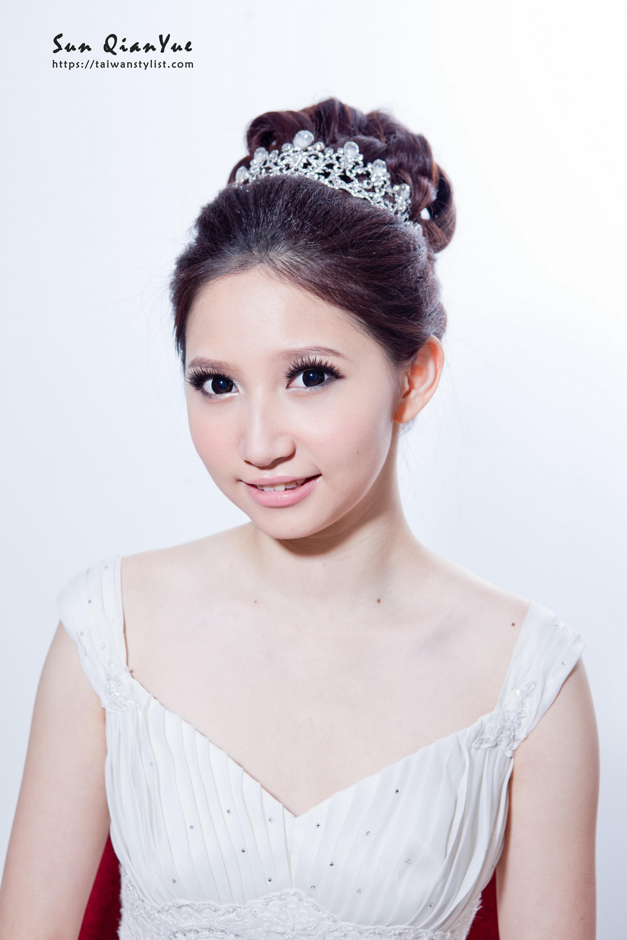 包頭新娘,公主包頭髮型設計