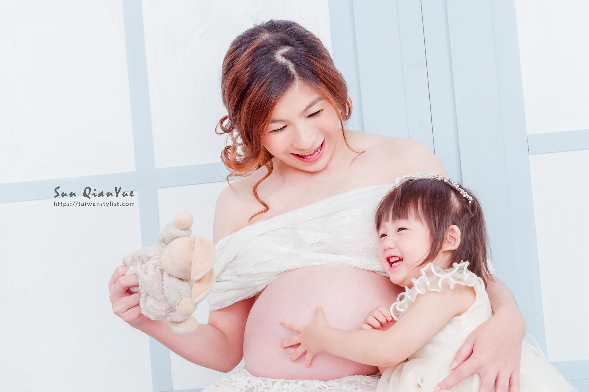 孕婦寫真妝髮造型-孕媽咪們拍孕婦照也能有最合適的造型設計